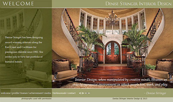 Interior Design Web Site